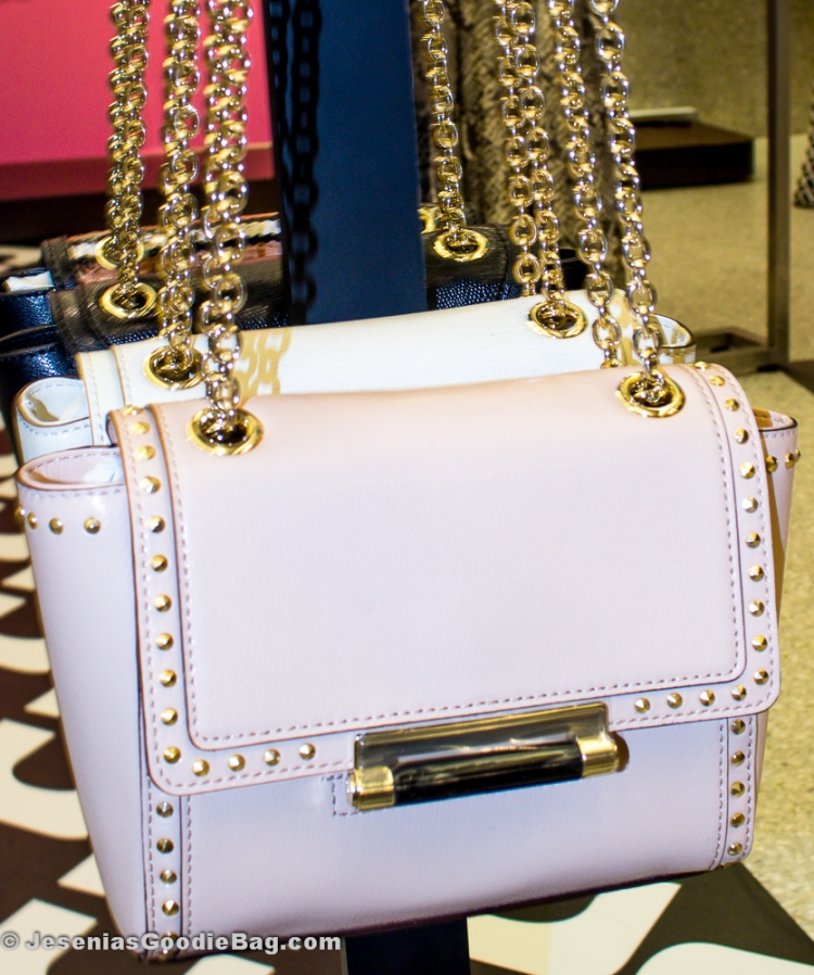 DVF Mini Studded Leather Crossbody Bag