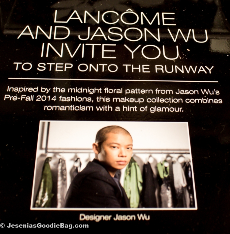 Jason Wu for Lancôme Collection