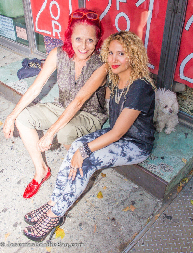 Patricia Field with Jesenia (JGB Editor)