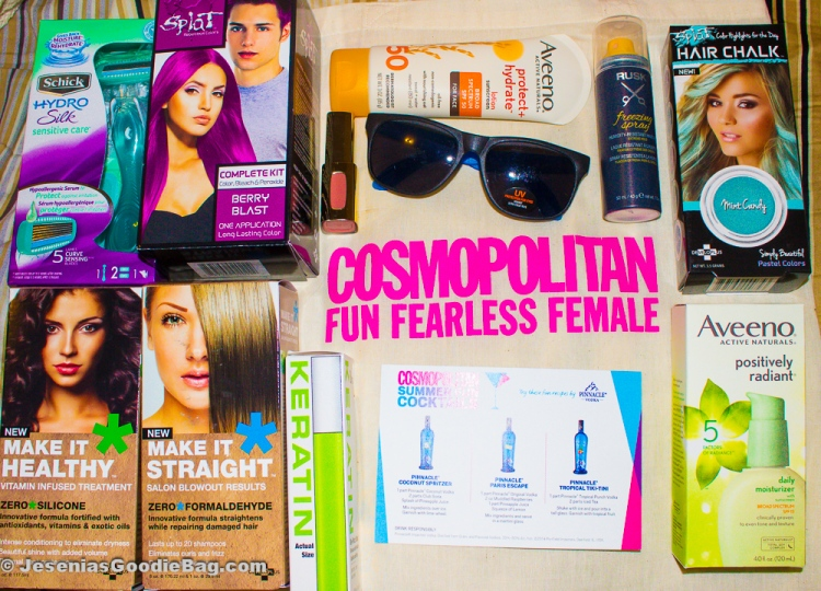 Cosmo Mag goody bag