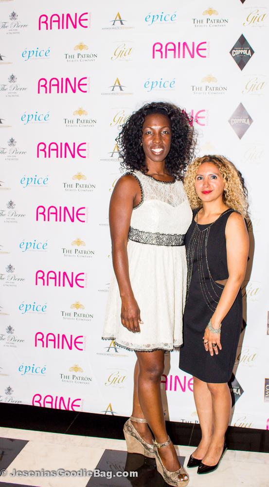 Nova Lorraine (Raine Magazine) with Jesenia (JGB Editor)