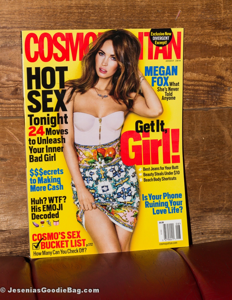 Megan Fox for Cosmopolitan magazine (August 2014)