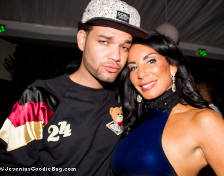 Danielle Staub with (Designer) Jason Christopher Peters (JCP is Wearing: Sabit NYC)