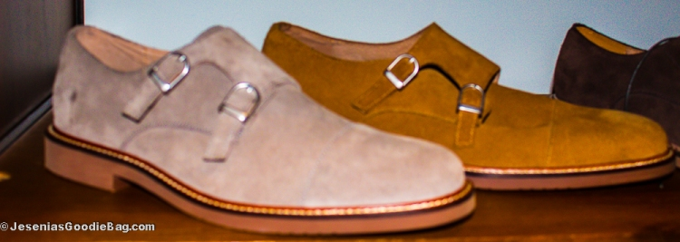 Double Monk Strap Shoes