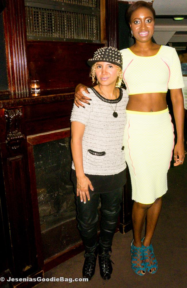 Jesenia (JGB Editor) with Ceres Dasia Henry (DIAJA)