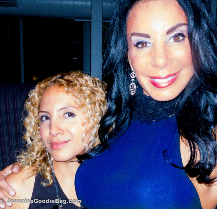 Jesenia (JGB Editor) with Danielle Staub (RHONJ)