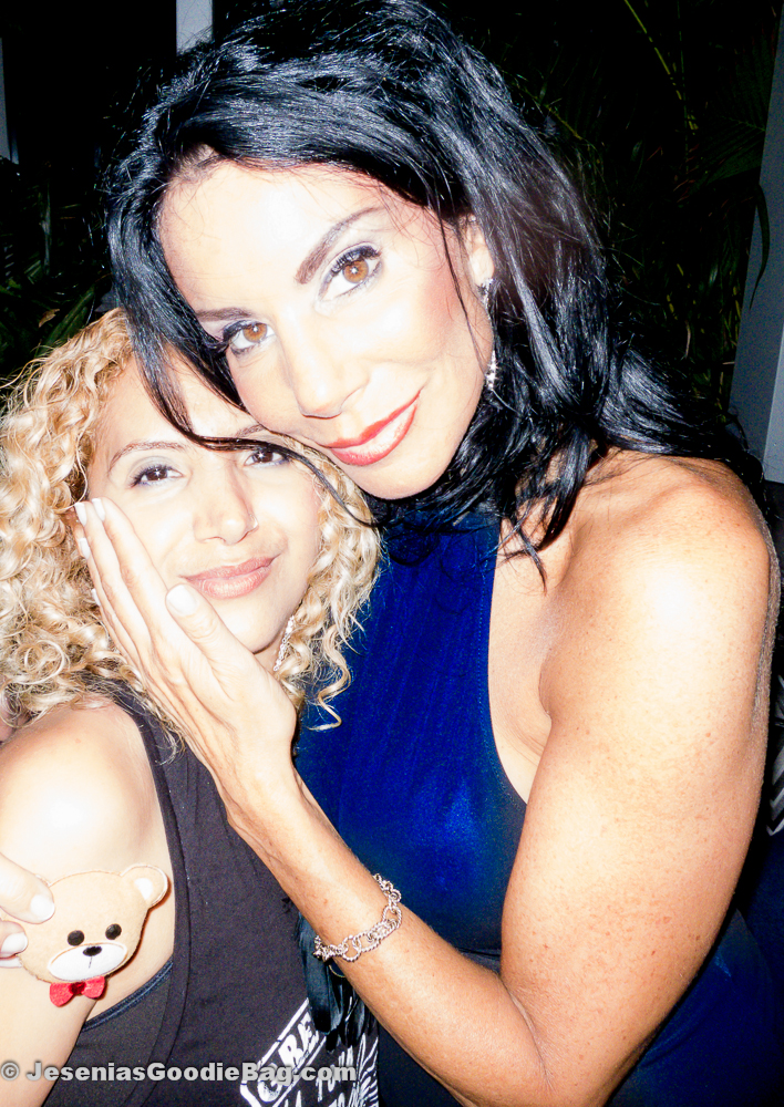 Jesenia (JGB Editor) with Danielle Staub