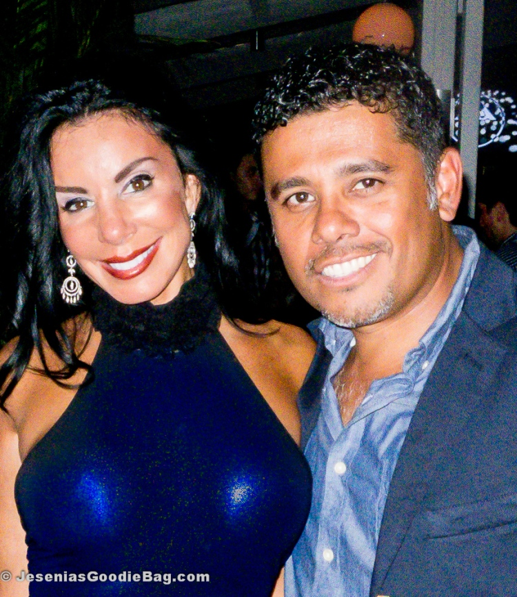 Danielle Staub with Henry Bastos (Celebrity MUA)