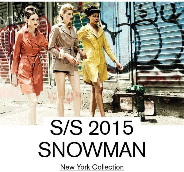 SNOWMAN New York (Spring 2015)