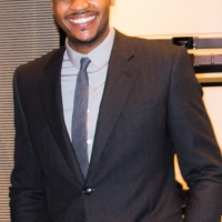 Carmelo Anthony + Giorgio Armani – Wall Street Suit Event