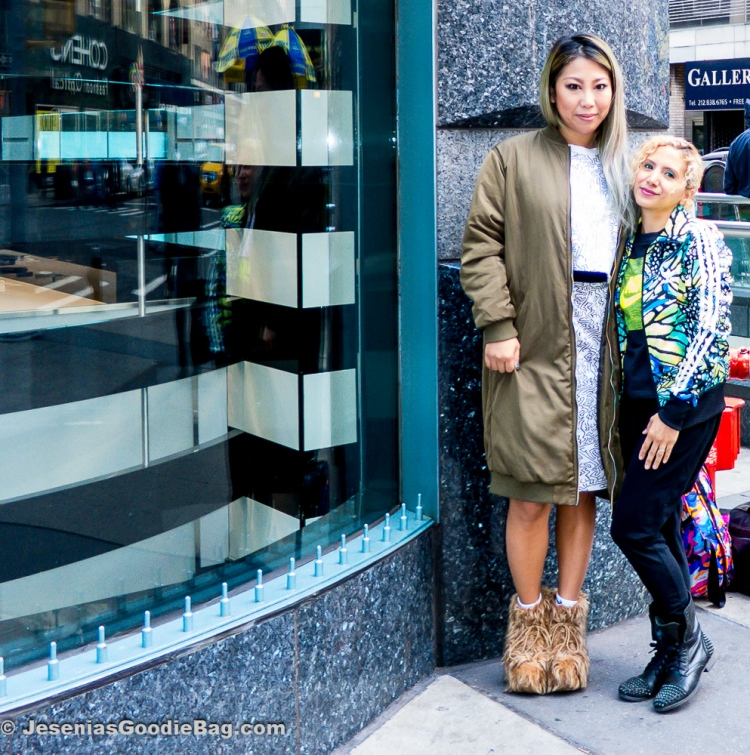 Britney Tokyo with Jesenia (JGB Editor)
