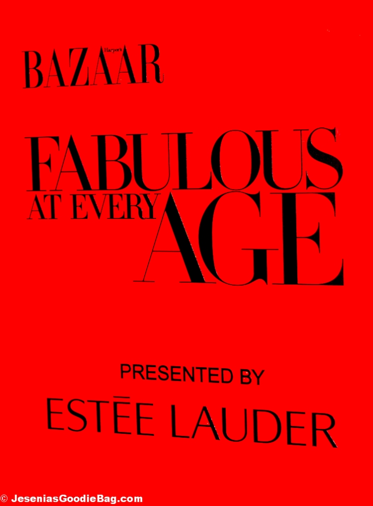Harper's Bazaar - Fabulous At Every Age - By Estee Lauder