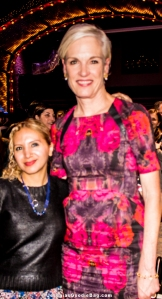 Jesenia (JGB Editor) with Cecile Richards (Planned Parenthood)