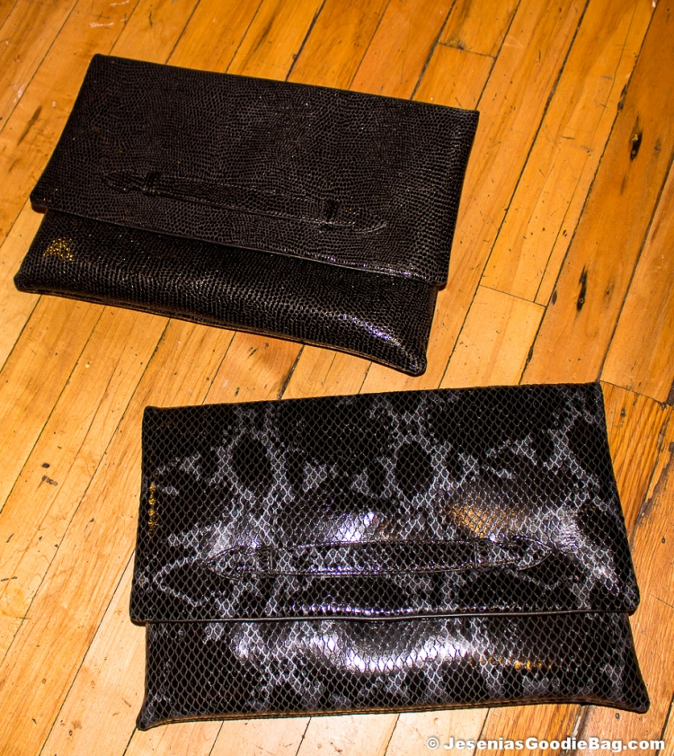 Chiara Oversized Leather Clutches