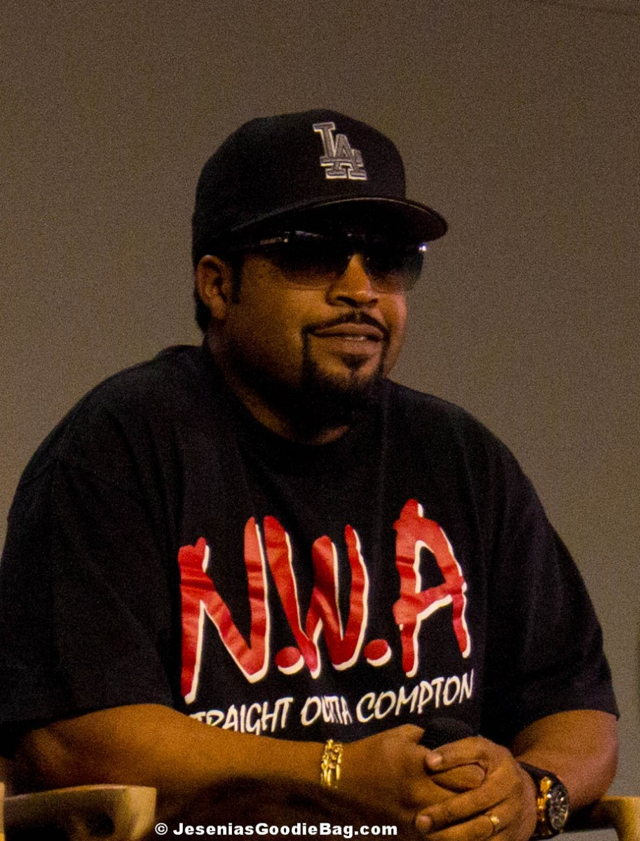 Meeting Ice Cube: Straight Outta Compton – Cast & Crew Event