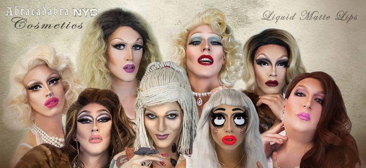Liquid Matte Lip Collection (Abracadabra NYC Cosmetics)