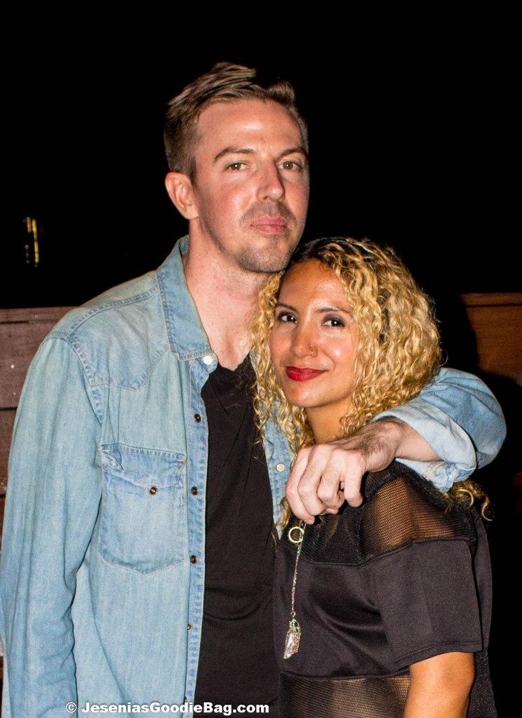 Chadwick Bell (Designer), with Jesenia (JGB Editor)