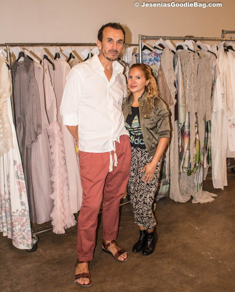 (Designer) Dorin Negrau with Jesenia (JGB Editor)