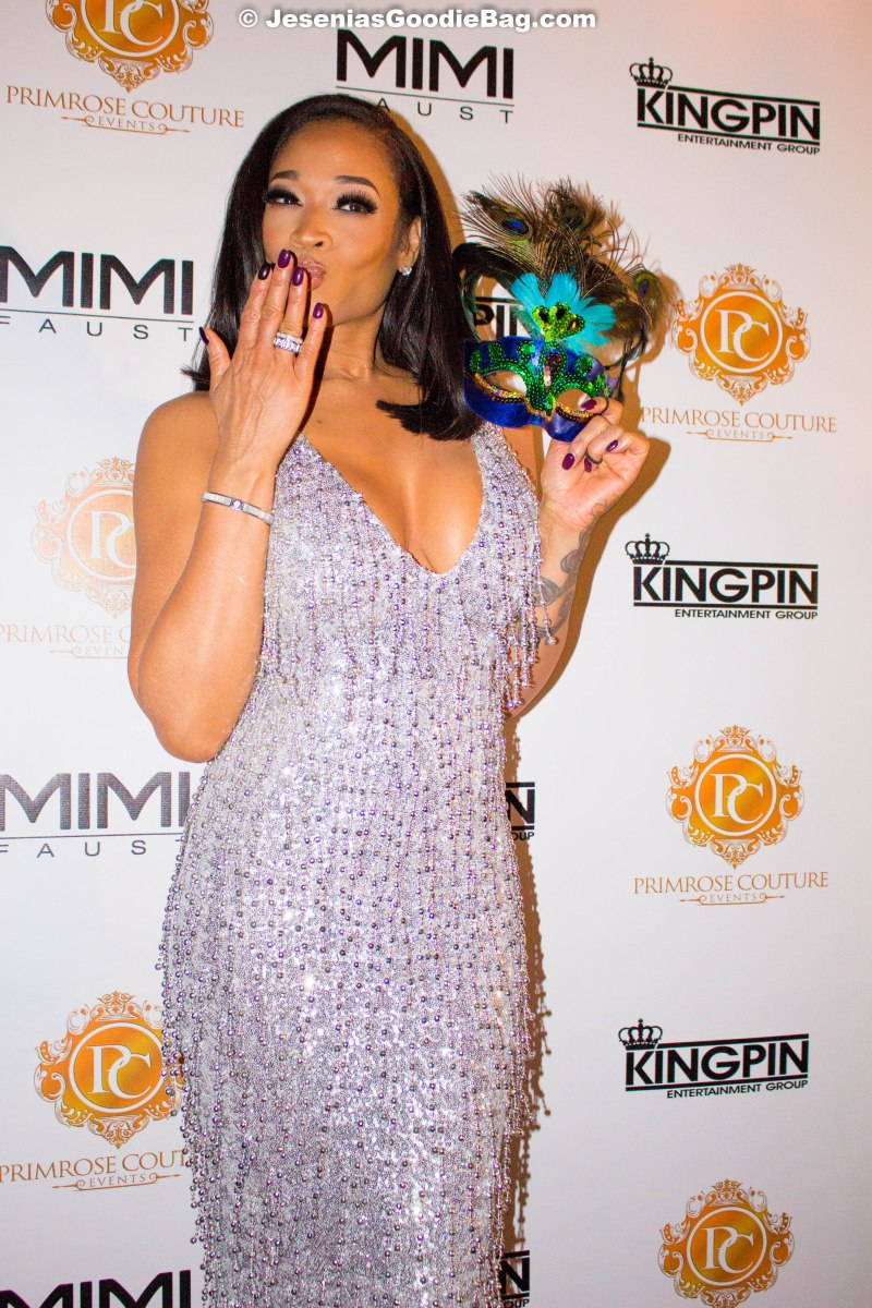 Mimi Faust – 40 Shades of Grey – Masquerade Birthday Bash