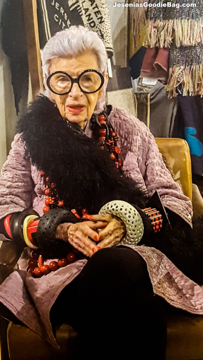 Iris Apfel Jewelry Collection Trunk Show And Birthday Bash