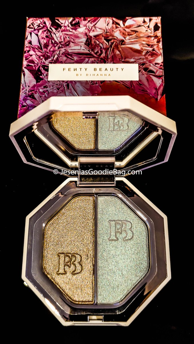 Fenty Beauty By Rihanna Killawatt Foil Freestyle Highlighter Duo in Sand Castle & Mint'd Mojito