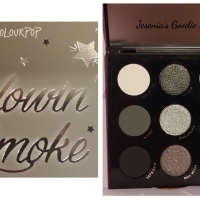 ColourPop x Blowin' Smoke - Nine Shades of Gray
